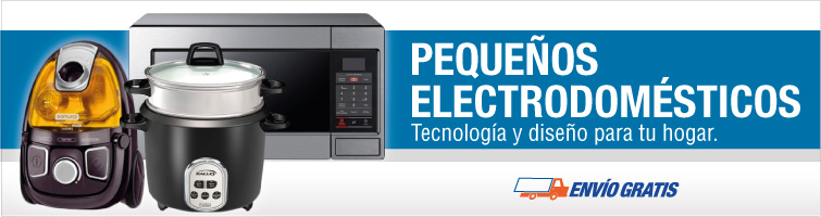 Pequeños Electrodomésticos: Tecnología y diseño para tu hogar.