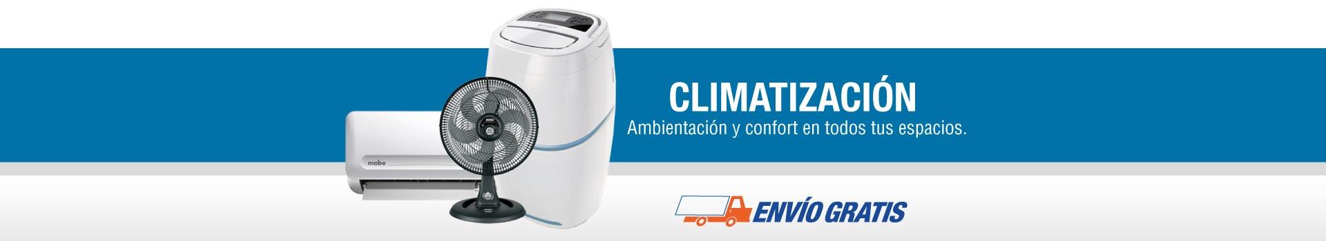 Climatización: Ambientación y confort en todos tus espacios.