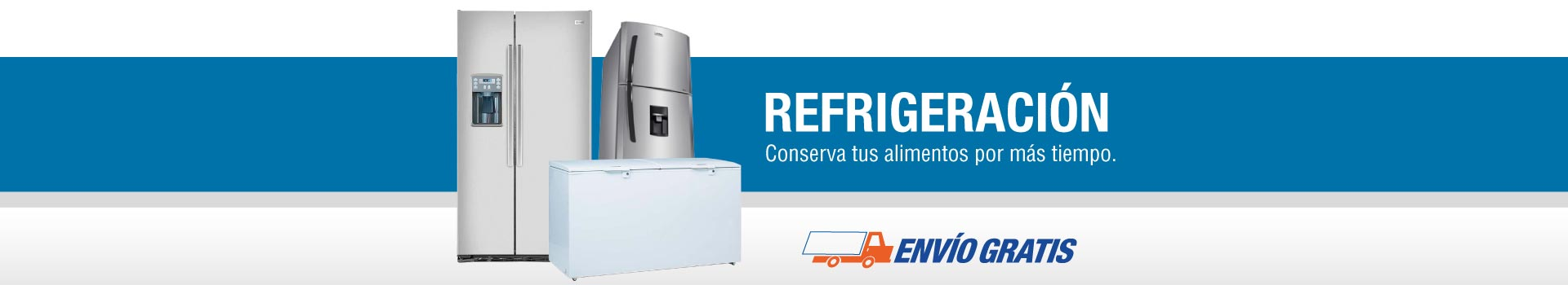 Refrigeración: conservan los alimentos por más tiempo.