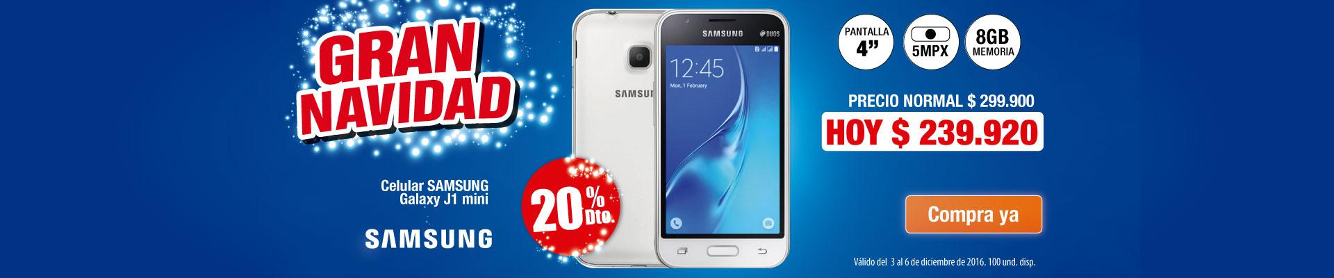 Celular Samsung Galaxy J1 mini - AK
