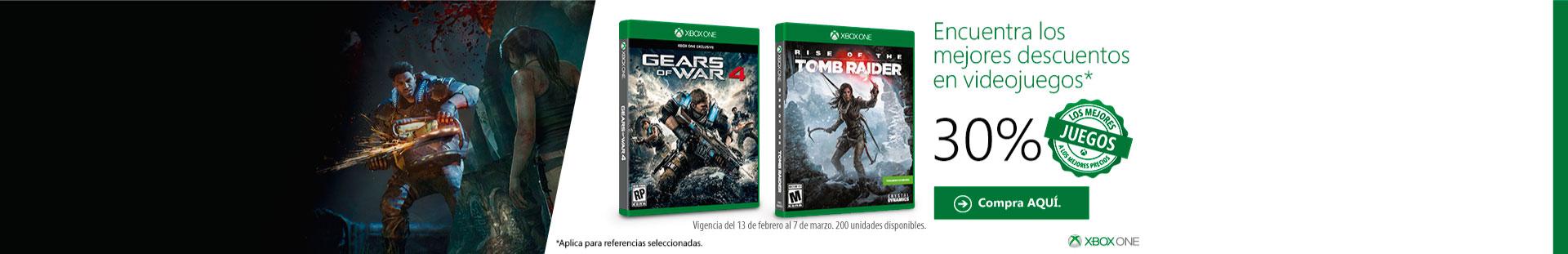 Descuentos videojuegos XBOX