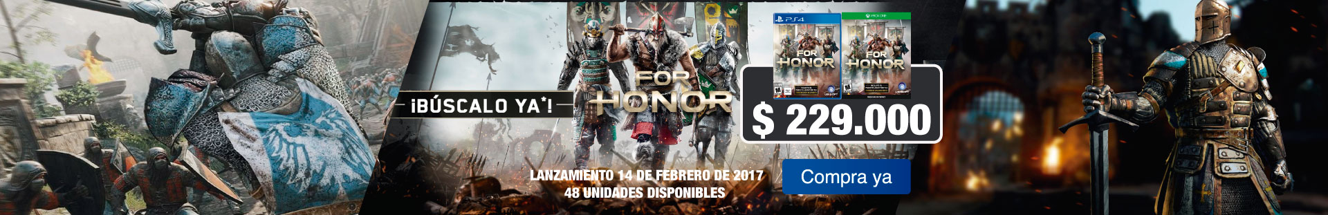 Lanzamiento For Honor