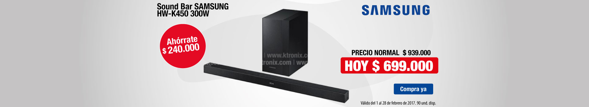 CAT AK- Audio SoundBar SG - Feb1