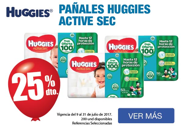 MENU Huggies Active Sec Julio 9 - 31
