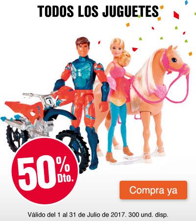 MEGA AK - 50%dto en juguetes - julio 5