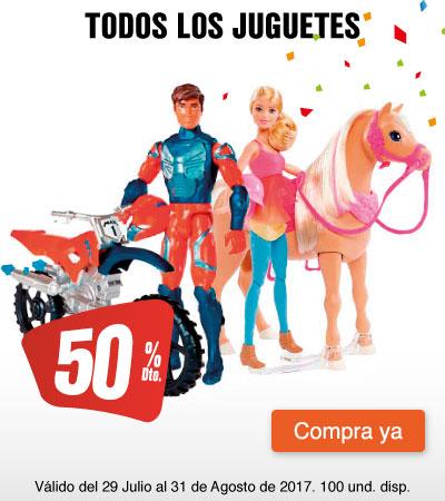 MEGA AK - 50%dto en juguetes - 31 de julio