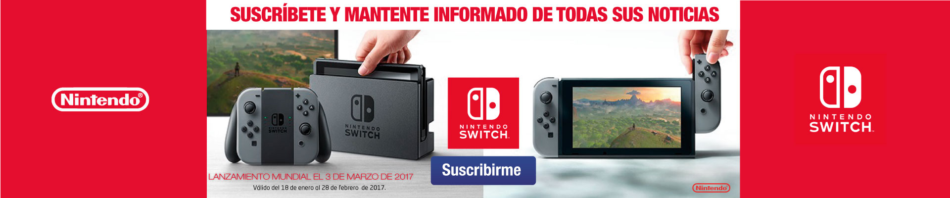 formulario Nintendo Switch