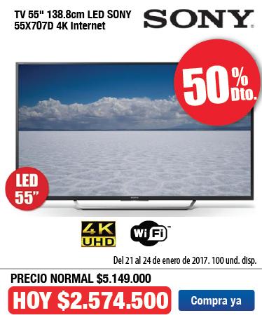 OFER KT Tv SONY 55X707 Ene 21
