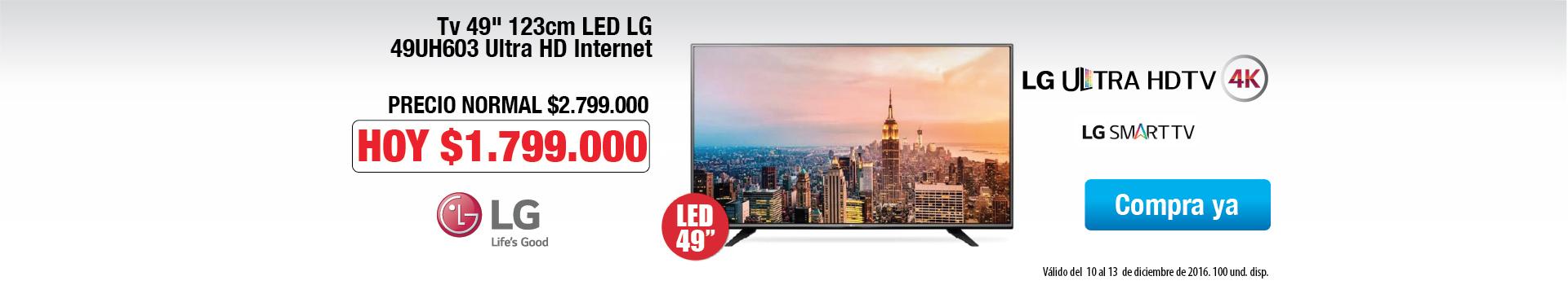 TV LG 49uh603
