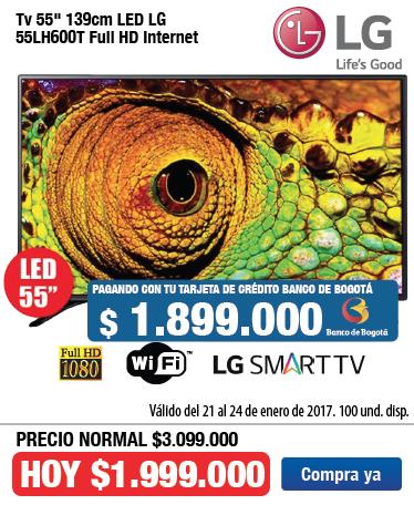 OFER AK- TV LG 55lh600 - Ene23
