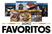 Favoritos PlayStation