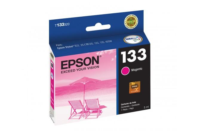 Cartucho EPSON T133320-AL TX125 Magenta