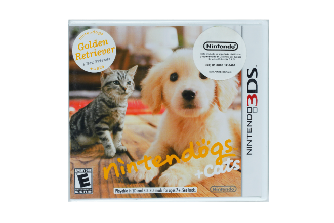 Video Juego NINTENDO 3DS Dogs+Cats