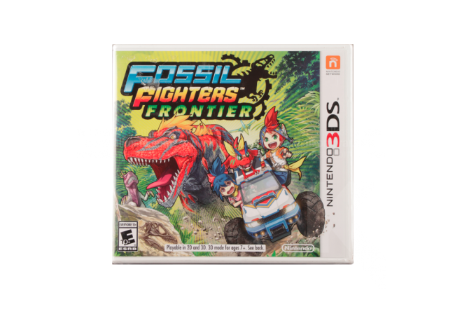 Videojuego NINTENDO 3DS Fossil Fighters Frontier
