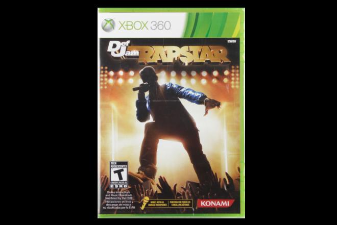 Vídeo Juego XBOX 360 Def Jam Rapstar