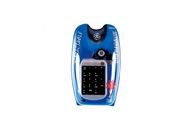 Combo GENERAL ELECTRIC Teclado Numerico + Mouse + Lector Memoria