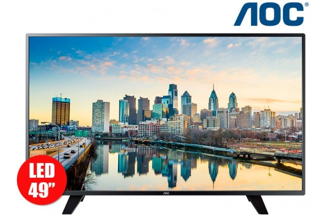 "Tv 49"" 124cm LED AOC 49F1861 FullHD Internet"