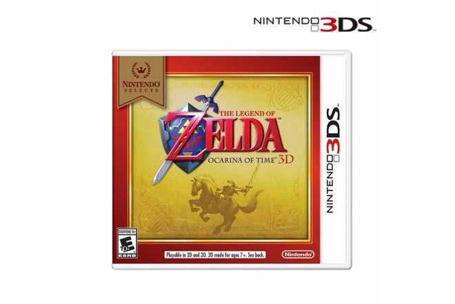 Videojuego NINTENDO 3DS Legend of Zelda Ocarina Select