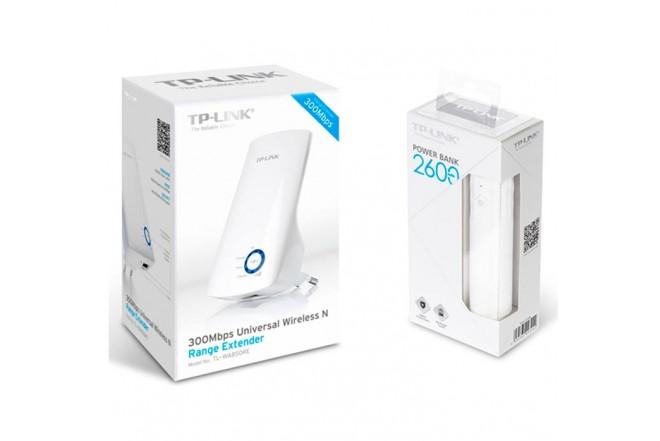 Combo TP-LINK Extensor + Batería