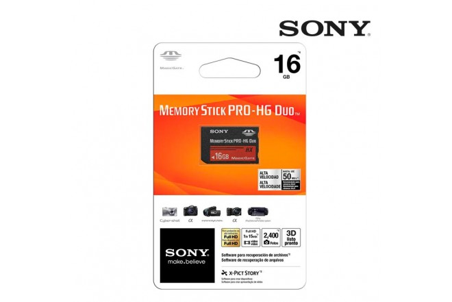 Memory Stick SONY HX 16GB