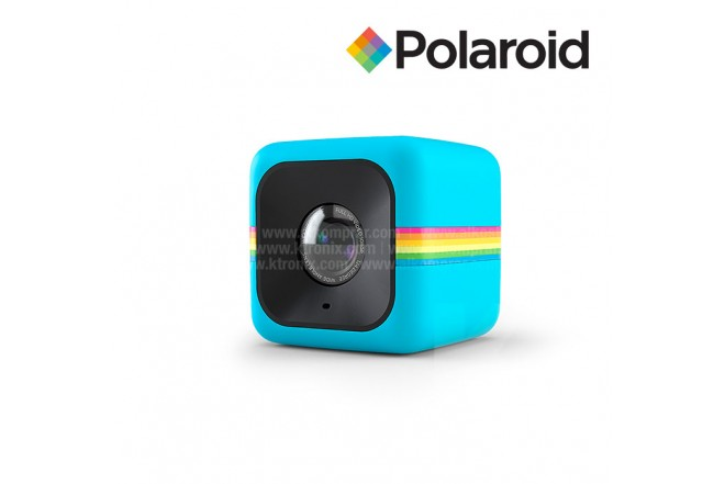 Cámara de acción POLAROID Cube Azul