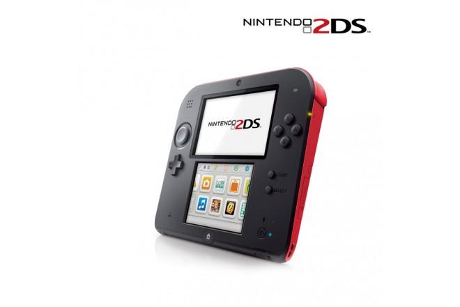 Consola NINTENDO 2DS Roja Mario Kart 7 + NFC + Amiibo
