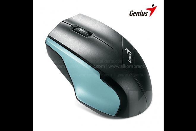 Mouse GENIUS Inalámbrico Negro/Azul