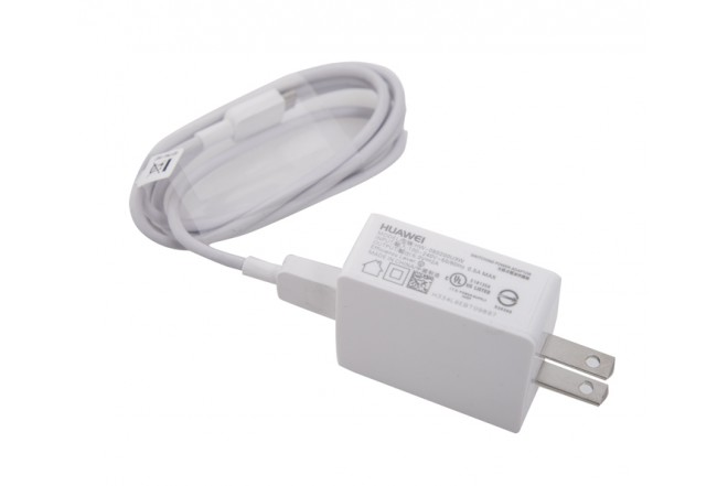 Cable Cargador de Pared / HUAWEI 5V Blanco