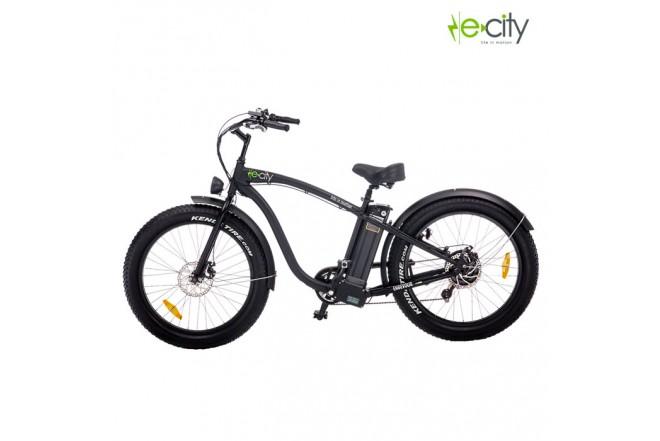 Bicicleta Electrica e-city Endevour Negra