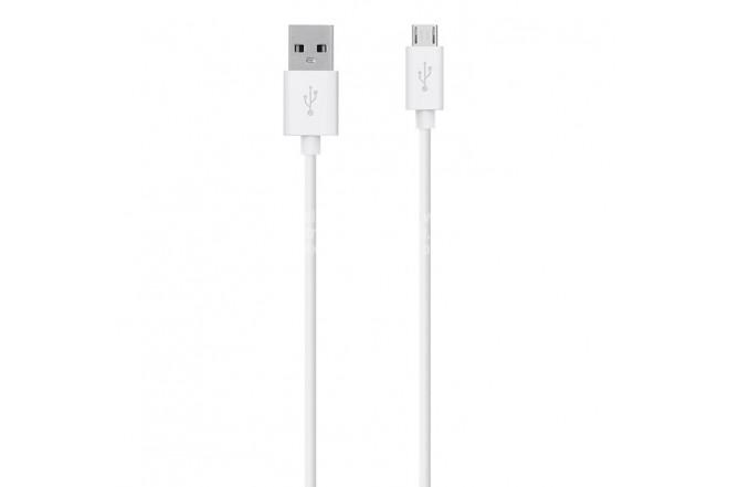 Cable BELKIN USB / Micro USB 2.1m - Blanco