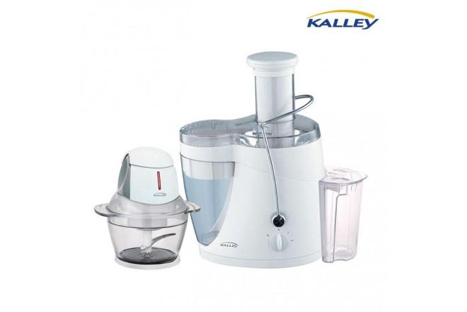 Kombo KALLEY Extractor de Jugos JE700 + Procesador de Alimentos PA250