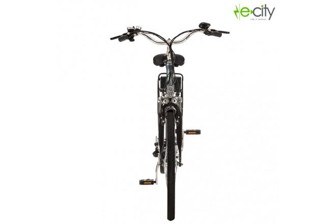 Bicicleta Electrica e-city Maverik Gris