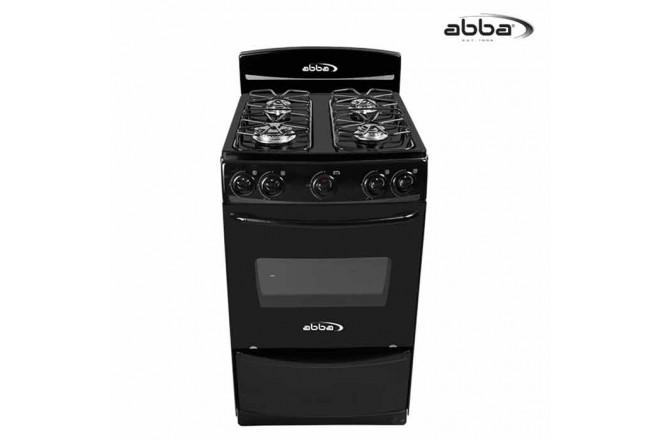 Estufa ABBA 20 AB 101-1N N Gas Natural - Color Negro