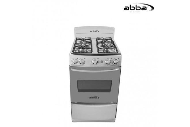 Estufa ABBA 20 AB 101-5N G Gas Natural - Color Gris