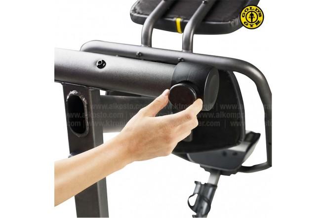 Bicicleta Recumbent 390 GOLD´S GYM POWERSPIN