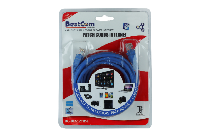 Cable BESTCOM de Red CAT 5E