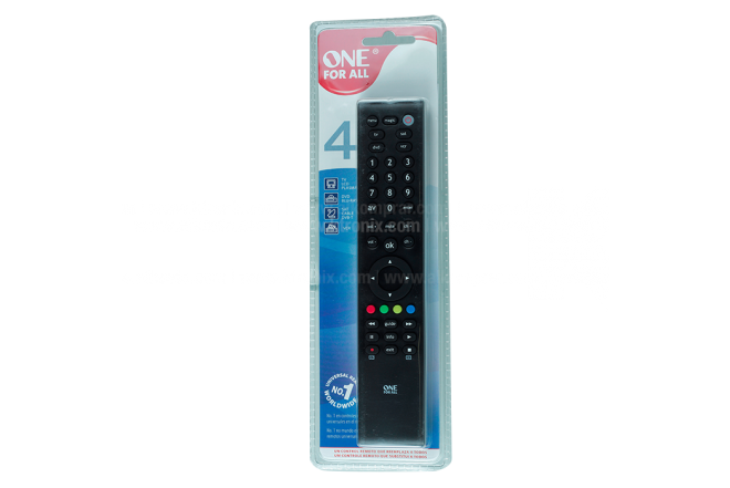 Control Remoto One For All Compatible Negro
