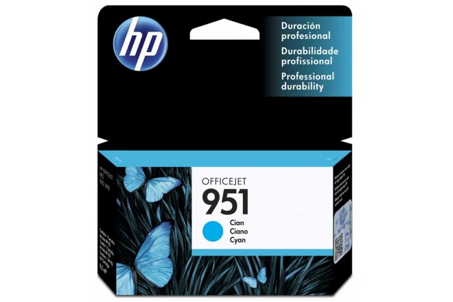 Tinta 951 HP Cyan Officejet