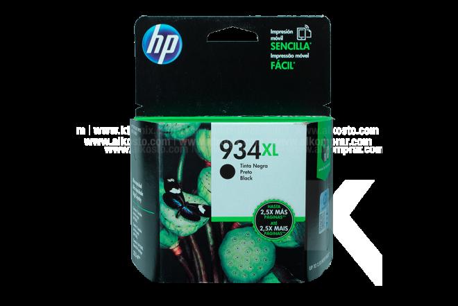 Cartucho HP 934XL Black Ink