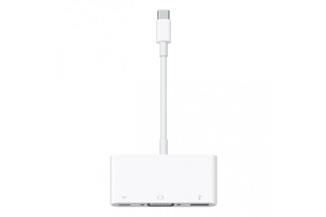 Adaptador MacBook USBC - VGA/USB