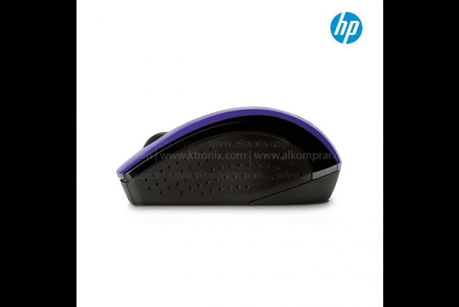 Mouse HP Inalámbrico Óptico X3000 Morado