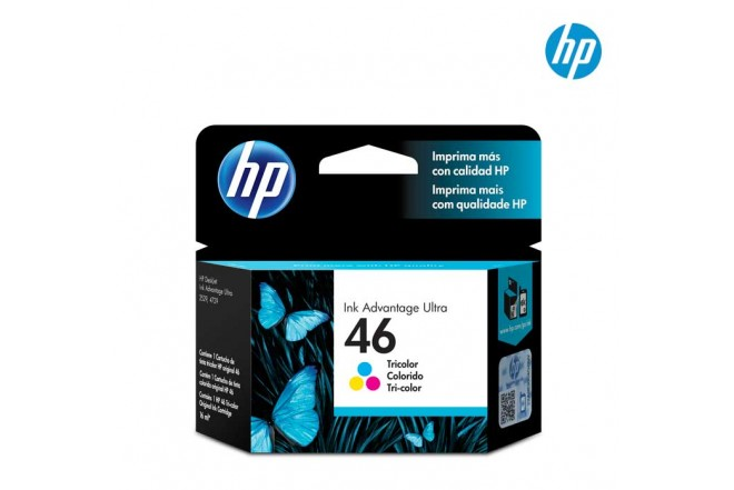 Cartucho HP 46 Tricolor Ink