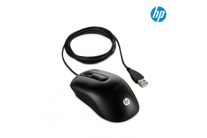 Mouse HP X900 Alámbrico Láser Negro