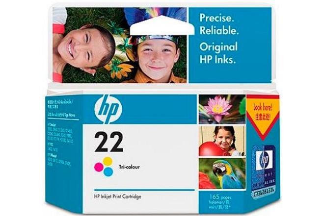 Cartucho HP C9352AL Tricolor