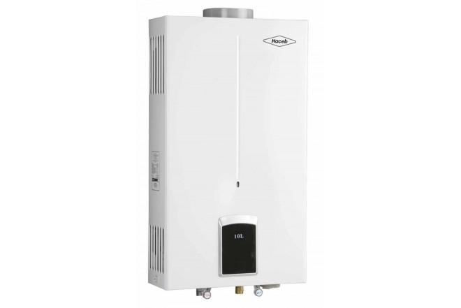 Calentador de Paso HACEB CPG 10L Tiro Natual - Gas Natural