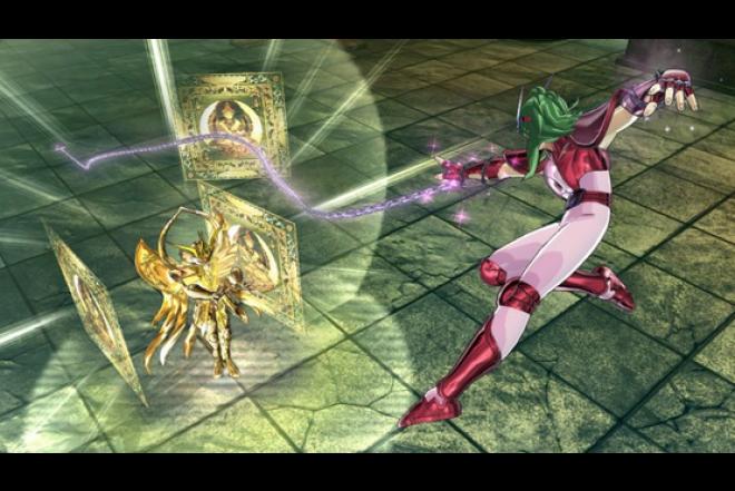 Videojuego PS3 Caballeros del Zodiaco Alma de Soldados