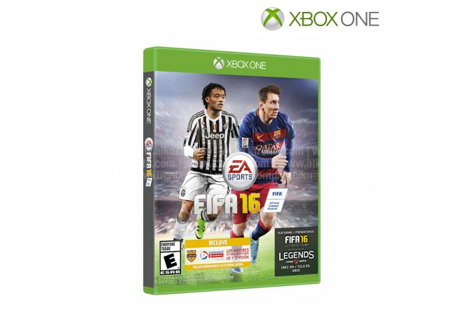 Videojuego XBOX ONE FIFA 16 Standard
