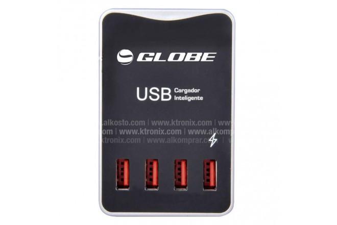 Multitoma Globe 4 Puertos USB 5V