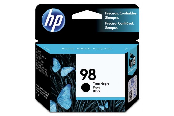 Tinta HP #98 Photosmart 8050 Negra