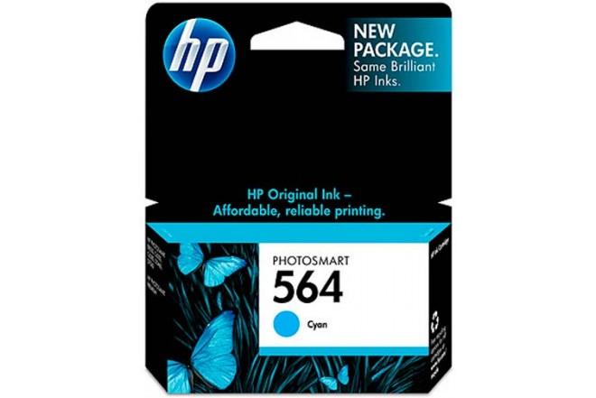 Cartucho HP 564 Cian